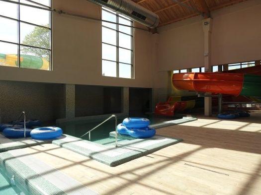 aqua park arsenal bazin si tobogan interior