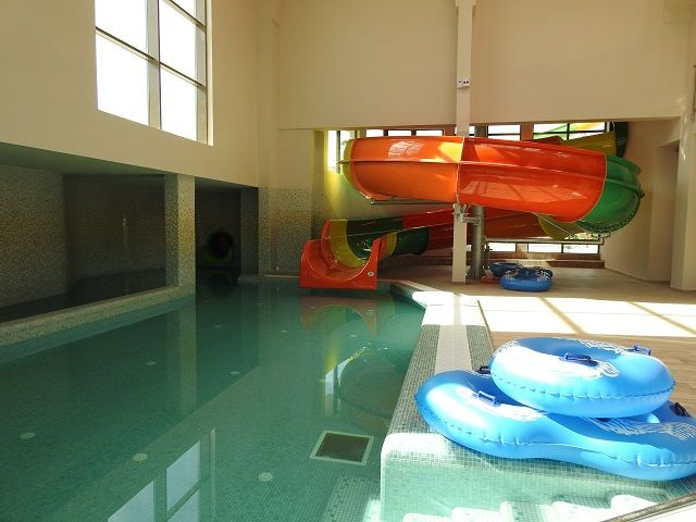 aqua park arsenal tobogan interior